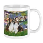 Lilies #2 / Two Shelties Mug