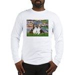 Lilies #2 / Two Shelties Long Sleeve T-Shirt