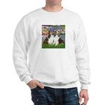 Lilies #2 / Two Shelties Sweatshirt