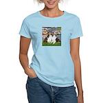 Lilies #2 / Two Shelties Women's Light T-Shirt
