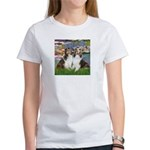 Lilies #2 / Two Shelties Women's T-Shirt