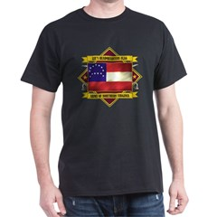 Lee's Headquarters Flag Dark T-Shirt