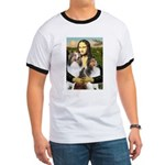 Mona Lisa / 2 Shelties (DL) Ringer T