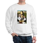 Mona Lisa / 2 Shelties (DL) Sweatshirt