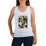 Mona Lisa / 2 Shelties (DL) Women's Tank Top