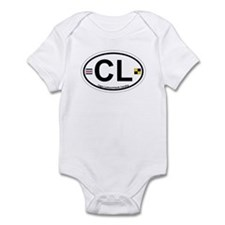 Cape Lookout NC - Oval Design Infant Bodysuit