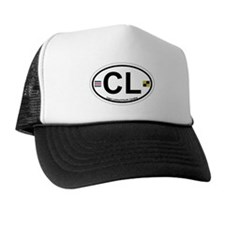 Cape Lookout NC - Oval Design Trucker Hat