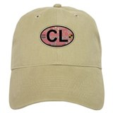 Baseball Cape Lookout NC - Oval Design Baseball Cap