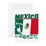 Mexican soccer Greeting Cards (10 Pack)