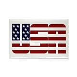 USA Rectangle Magnet