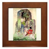 Kay Nielsen's Sleeping Beauty Framed Tile