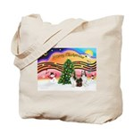 Xmas Music / 2 Shelties Tote Bag