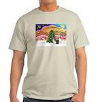 Xmas Music / 2 Shelties Light T-Shirt