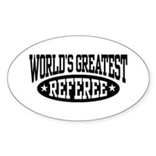 World's Greatest Referee Decal