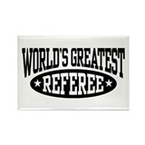 World's Greatest Referee Rectangle Magnet