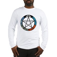 Elemental Pentacle Long Sleeve T-Shirt