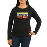 The Pike Women's Long Sleeve Dark T-Shirt