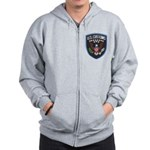 United States Customs Zip Hoodie