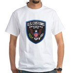 United States Customs White T-Shirt