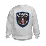 United States Customs Kids Sweatshirt