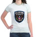 United States Customs Jr. Ringer T-Shirt