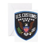 United States Customs Greeting Cards (Pk of 20)