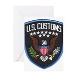 United States Customs Greeting Card