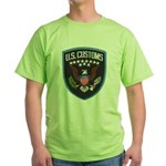 United States Customs Green T-Shirt