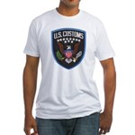 United States Customs Fitted T-Shirt