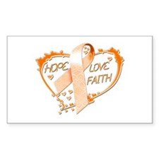 Hope Love Faith Decal