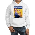 Rosie's Pro-Choice Hooded Sweatshirt