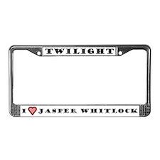 Jasper License Plate Frame