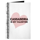 Cassandra Is My Valentine Journal