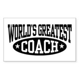 World's Greatest Coach Decal