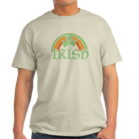 Vintage Irish Rainbow Light T-Shirt