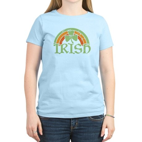 Vintage Irish Rainbow Women's Light T-Shirt