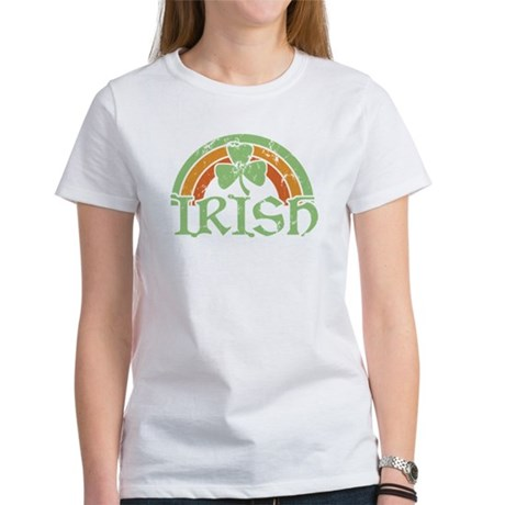 Vintage Irish Rainbow Women's T-Shirt