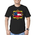 7th Tennessee Infantry Men's Fitted T-Shirt (dark)