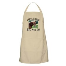 I Only Ride Big Studs (Photo) Apron