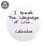 "Calculus Love Language 3.5"" Button (10 pack)"