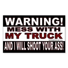 Warning Truck (Rectangle)