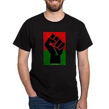 uhuru360 field agent Black T-Shirt