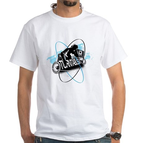 Turntablism DJ White T-Shirt