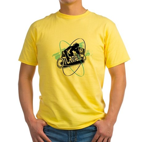 Turntablism DJ Yellow T-Shirt