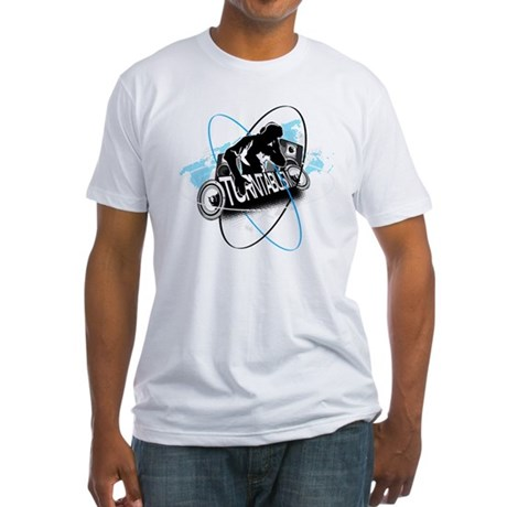 Turntablism DJ Fitted T-Shirt