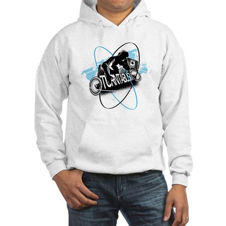 Turntablism DJ Hooded Sweatshirt