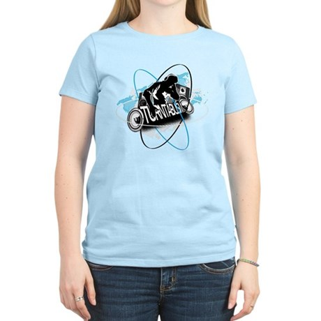 Turntablism DJ Women's Light T-Shirt