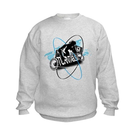 Turntablism DJ Kids Sweatshirt