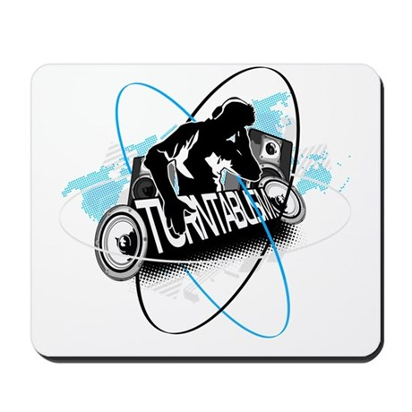 Turntablism DJ Mousepad