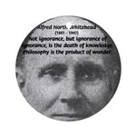 Whitehead Education Quote Ornament (Round)